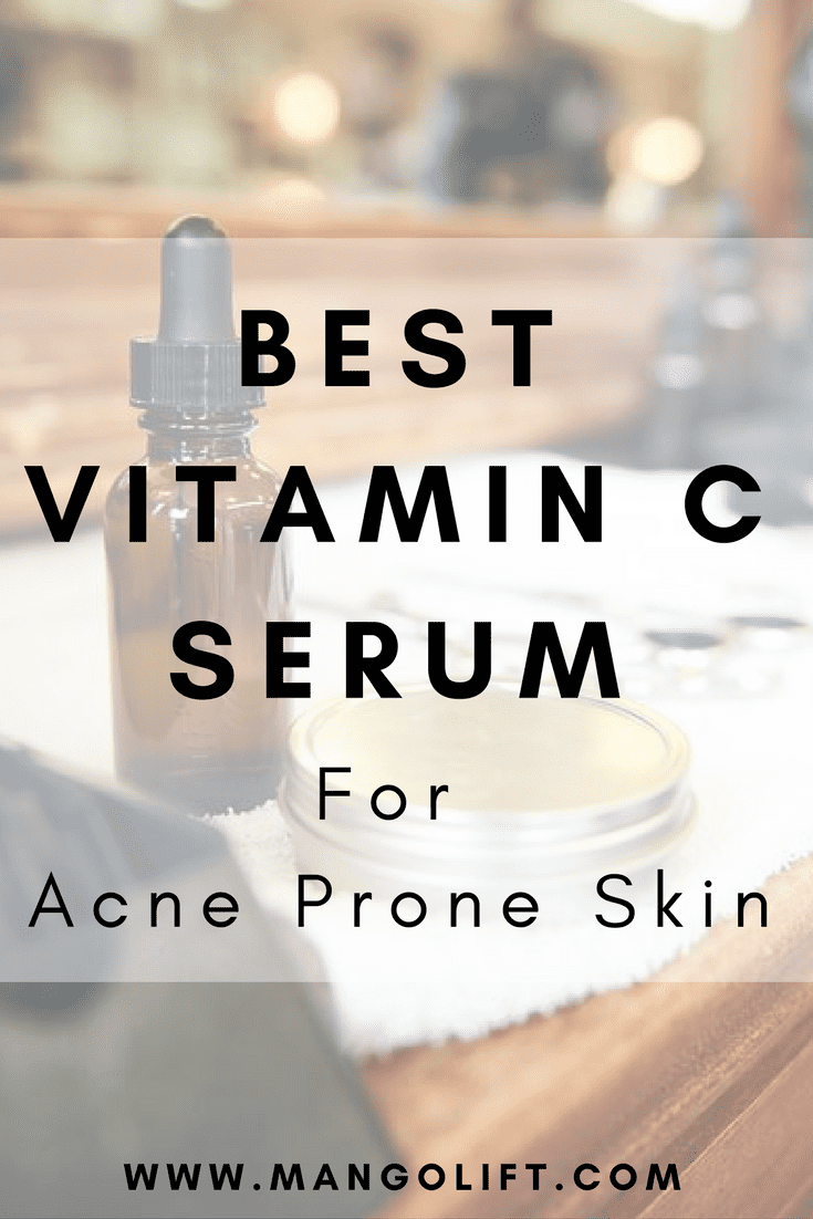 Pinterest, 5 Best Vitamin C Serum for Acne Prone Skin